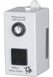 "Photocontroller, 120vac, ON during ""Daylight"", 10 Amp @ 120vac"