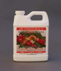 Metanaturals Professional Organic Plant Nutrient (Base) 3-3-3, 1 Gallon