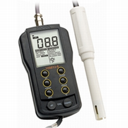 Hanna HI 9813-6N - pH/EC/TDS/C Portable Meter with Cal Check