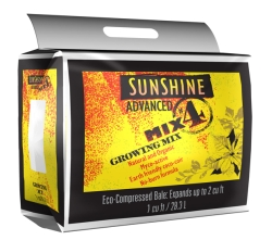 Sunshine Advanced Mix #4 1 Cubic Foot pallet of 100