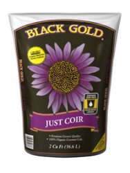 Black Gold Just Coir 2 Cubic Feet pallet of 40
