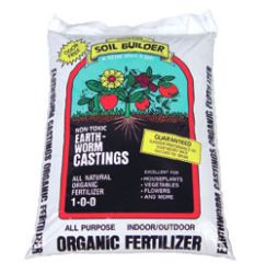 Wiggle Worm Soil Builder Earth Worm Castings 30 lb.