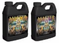 Master A&B - Premium 2 Part Bloom Hydroponic Nutrient - 1 Quart A, 1 Quart B image 1