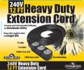 Heavy Duty Extension Cord, 240V, 12' image 3