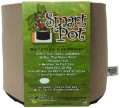 "Tan Smart Pot - 3 Gallon 10"" Wide x 7.5"" Tall image 1"