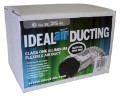 Ideal-Air Silver/Black Flex Ducting 6 in x 25 ft image 2
