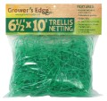 "Grower's Edge Green Trellis Netting 6.5 x 25 Foot 6"" Holes image 3"