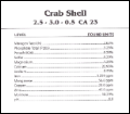 Neptunes Harvest Crab Shell 4 Lb Bag image 1
