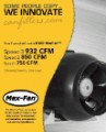 Can-Fan Max Fan 8 in HO 932 CFM 3 Speed image 2