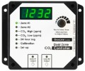 Grozone Control CO2D 0-5000 PPM Dual Zone CO2 Controller image 1
