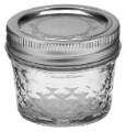 Ball 4-oz. Quilted Crystal Jelly Jars, Set of 12 image 1