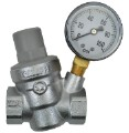 Dosatron Pressure Regulator w/ Gauge - 3/4 in (FPT x FPT) image 1