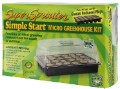 Super Sprouter Simple Start Micro Greenhouse Kit with Grodan Plugs image 1