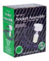 Socket Assembly w/ 15 ft Lamp Cord - 16 Gauge image 1