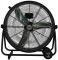 Hurricane Pro High Velocity Metal Drum Fan 24 in image 2