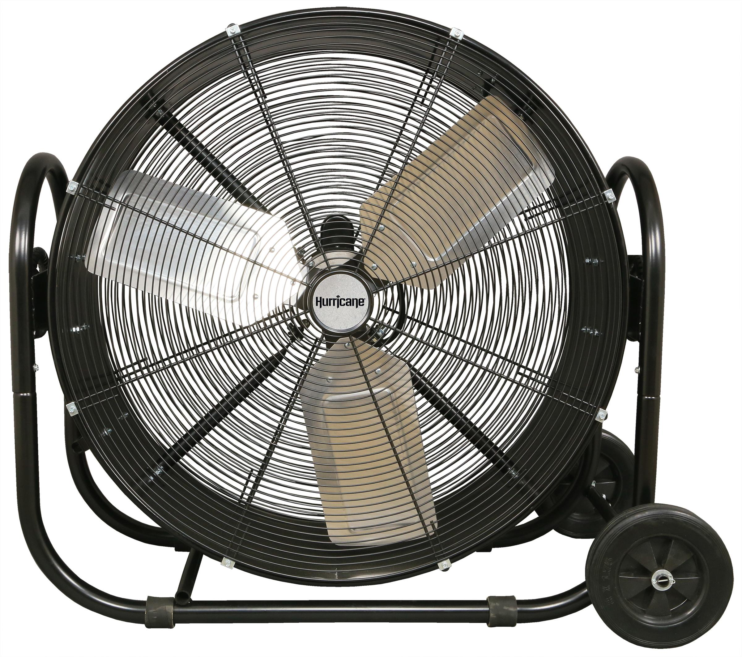 Heavy Duty Fan >> Hurricane Pro Heavy Duty Adjustable Tilt Drum Fan 30 In