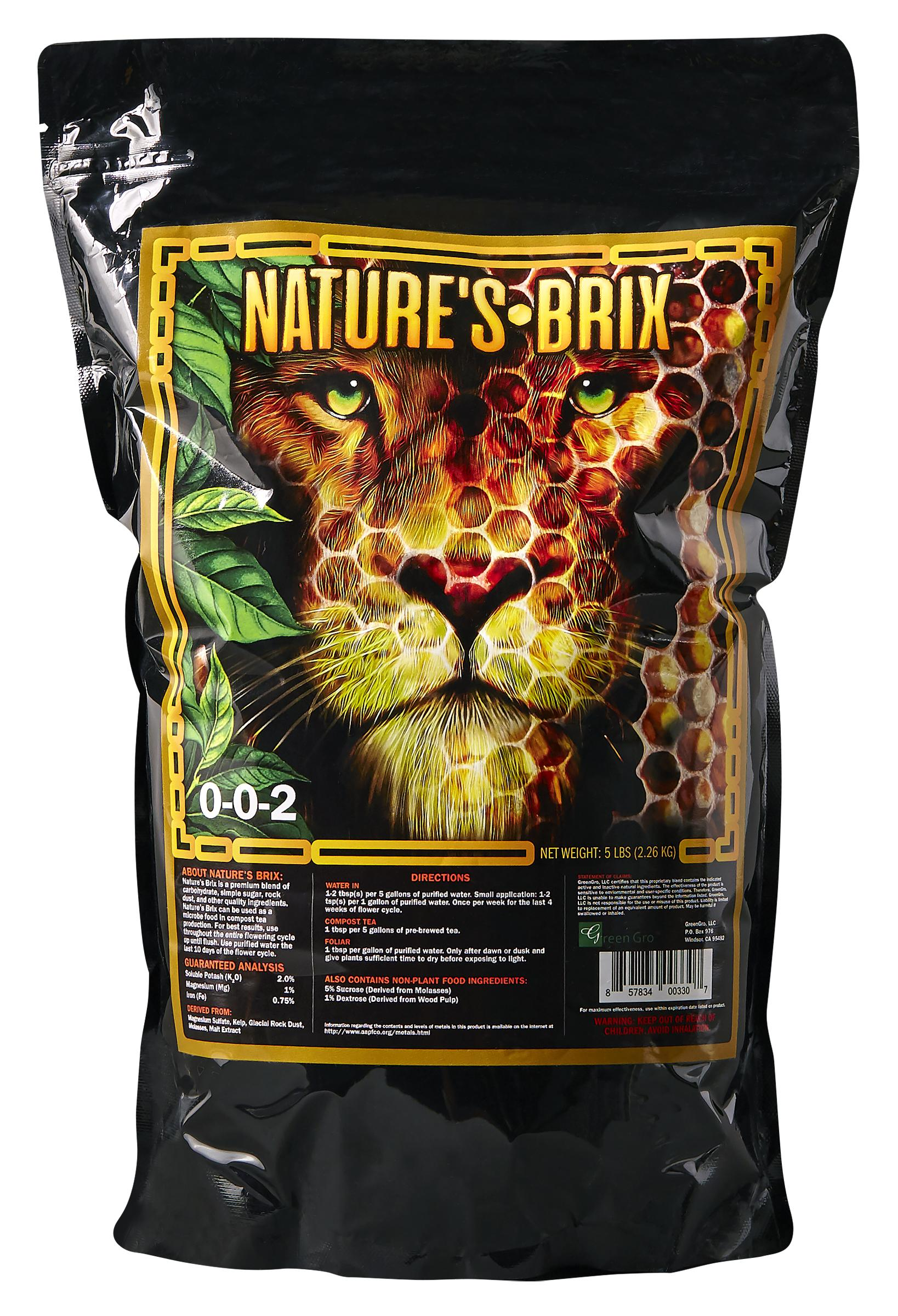 GreenGro Nature's Brix 5 lb