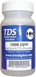 HM Digital HMC1000 1000ppm Calibration Solution - 3 Ounce