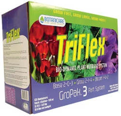 Triflex Gropack, 1 Grow, 1 Bloom & 1 Base Gallon