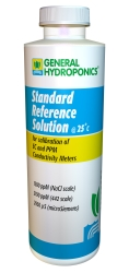 General Hydroponics EC and PPM Calibration Solution 8 Ounce (236 ml)