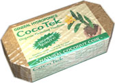 CocoTek Natural Coconut Coir Brick - 1.5 lbs case of 24