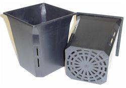 "Net Planter 6"" Square x 7"" Tall - Case of 50"