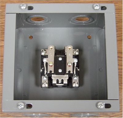 junction box with relay