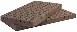 Oasis Rootcubes 1.25 in Medium Cubes (5010) 104/Sheet