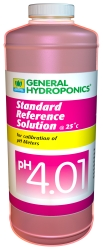 General Hydroponics pH 4.01 Calibration Solution 1 Quart (946 ml)