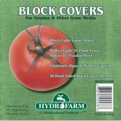 "Rockwool Block Covers, 4"", Pack of 40"