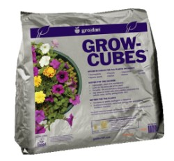 Grodan Growcubes 6 Cubic Feet, 6 bags of 1 cu ft