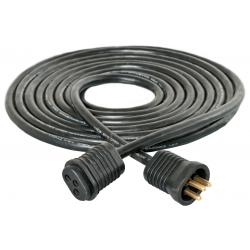 Lamp Cord Extension, 15', Lock & Seal