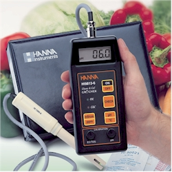 Hanna HI 9813-6 - Waterproof pH/EC/TDS/Temperature Meter with pH Electrode Diagnostic