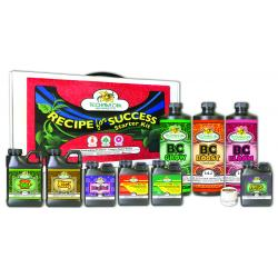 B.C Hydroponic Nutrients Recipe For Success Starter Kit