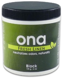 Ona Block Fresh Linen 6 Ounces