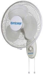 Hurricane (EcoPlus) 16in. 3-Speed Wall Mount Oscillating Fan