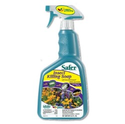 Safer Insect Killing Soap RTU Spray 32 Ounce