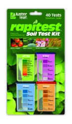 Rapitest Soil Test Kit - pH, N, P, K 6 Model 1601