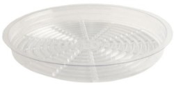 "Gro Pro 13.5"" Clear Saucer pack of 50"