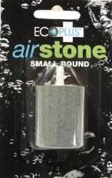 "Eco Plus 1 3/8"" x  1 5/8"" Small Round Air Stone"