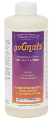 goGnats Liquid Concentrate, 16 Ounces - For Hydroponics or Soil