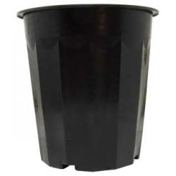 Black Plastic Pot, 16 qt, pack of 50