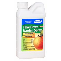 Take Down Garden Spray Concentrate - 16 Ounce