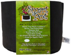 "2 Gallon Smart Pot 8"" Wide x 7"" Tall"