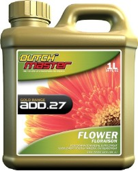 Dutch Master Gold Range Add.27 Flower 1 Liter