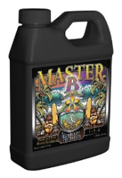 Master B - Premium 2 Part Bloom Hydroponic Nutrient - 16 oz.