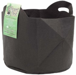 Smart Pot Black 10 Gallon w/ handles