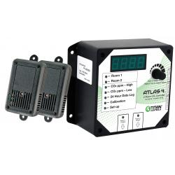Titan Controls Atlas 4 - 2 Room CO2 Monitor Controller