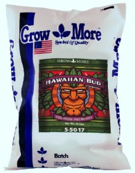 Grow More Hawaiian Bud 5-50-17, 25 lb