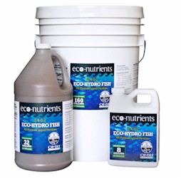 Eco-Nutrients Eco-Hydro Fish Fertilizer Quart